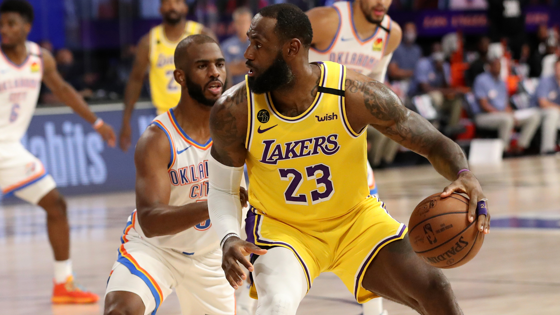 Thunder @ Lakers