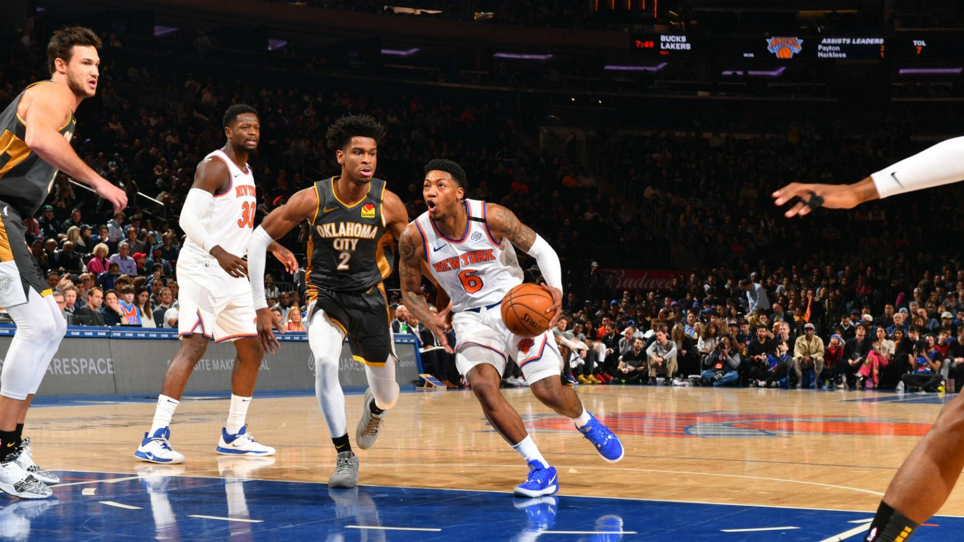 Thunder @ Knicks