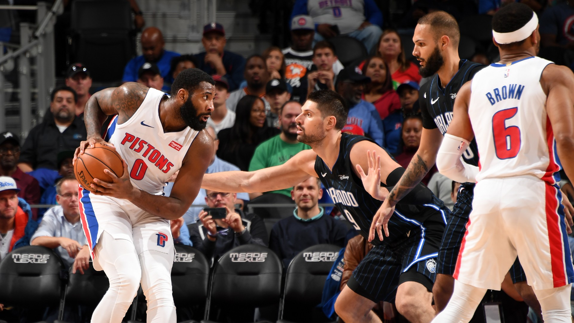 Magic @ Pistons
