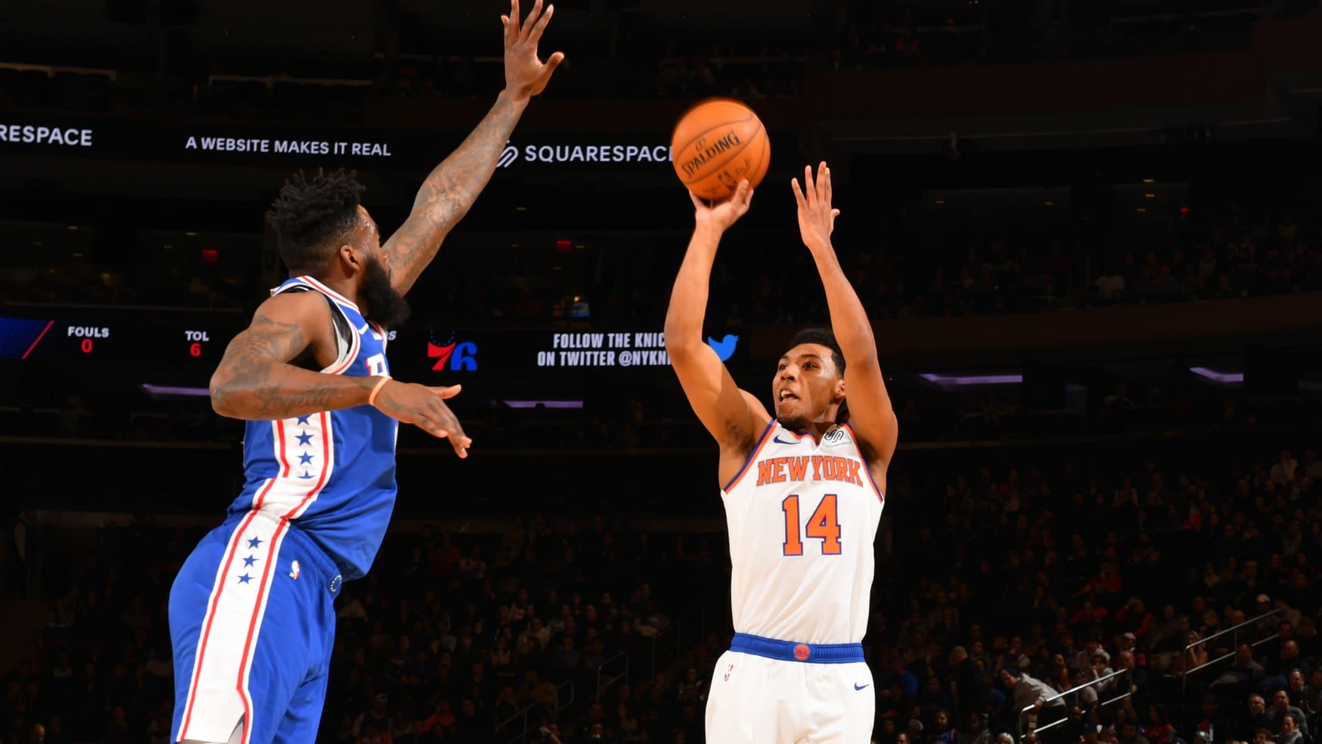 76ers @ Knicks