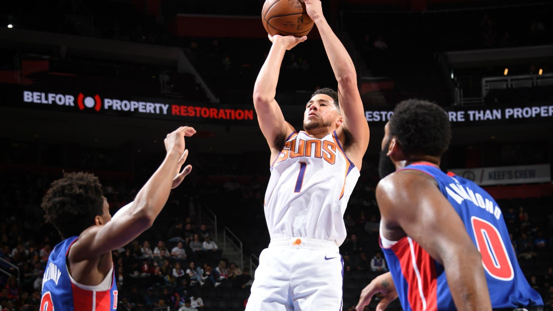Suns @ Pistons