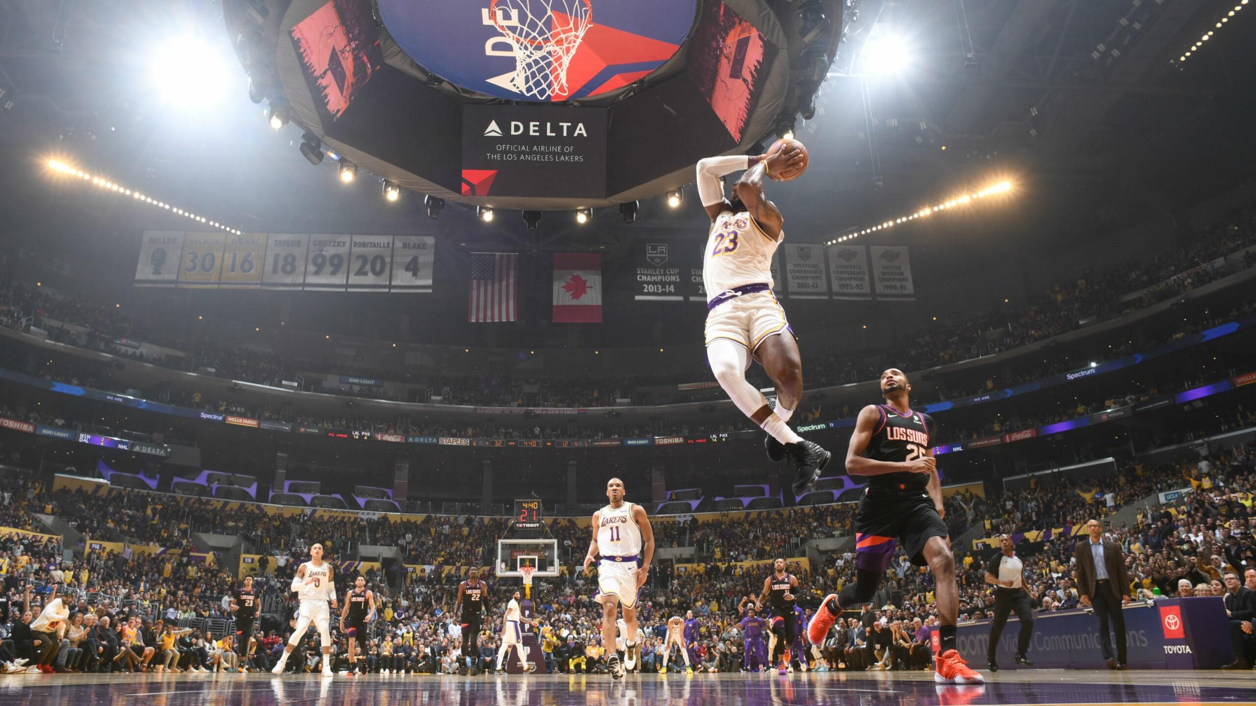 Suns @ Lakers