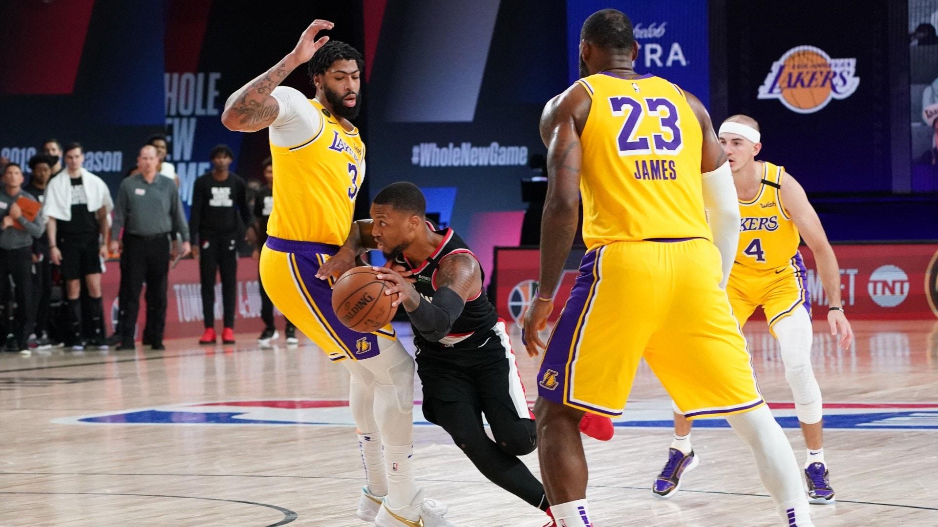 Trail Blazers @ Lakers