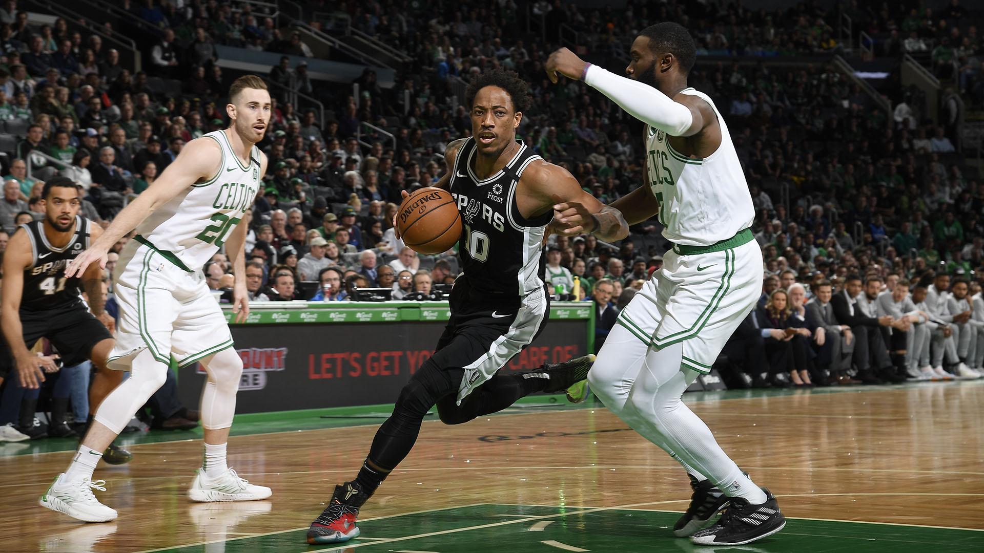 Spurs @ Celtics
