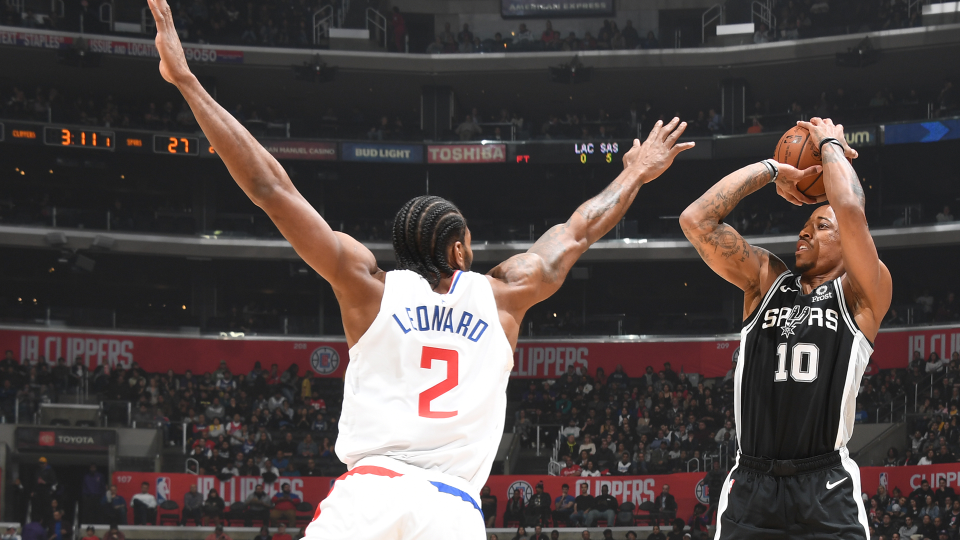 Spurs @ Clippers
