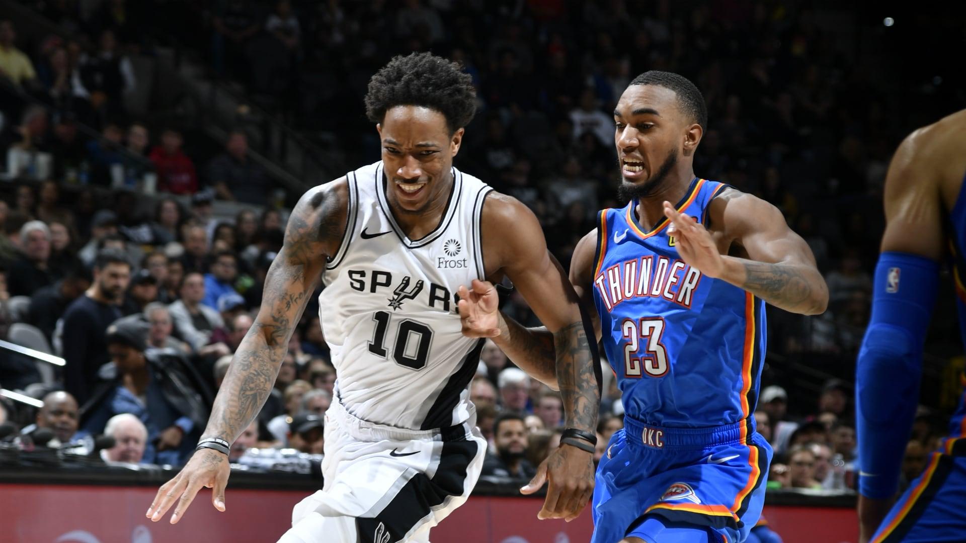 Thunder @ Spurs