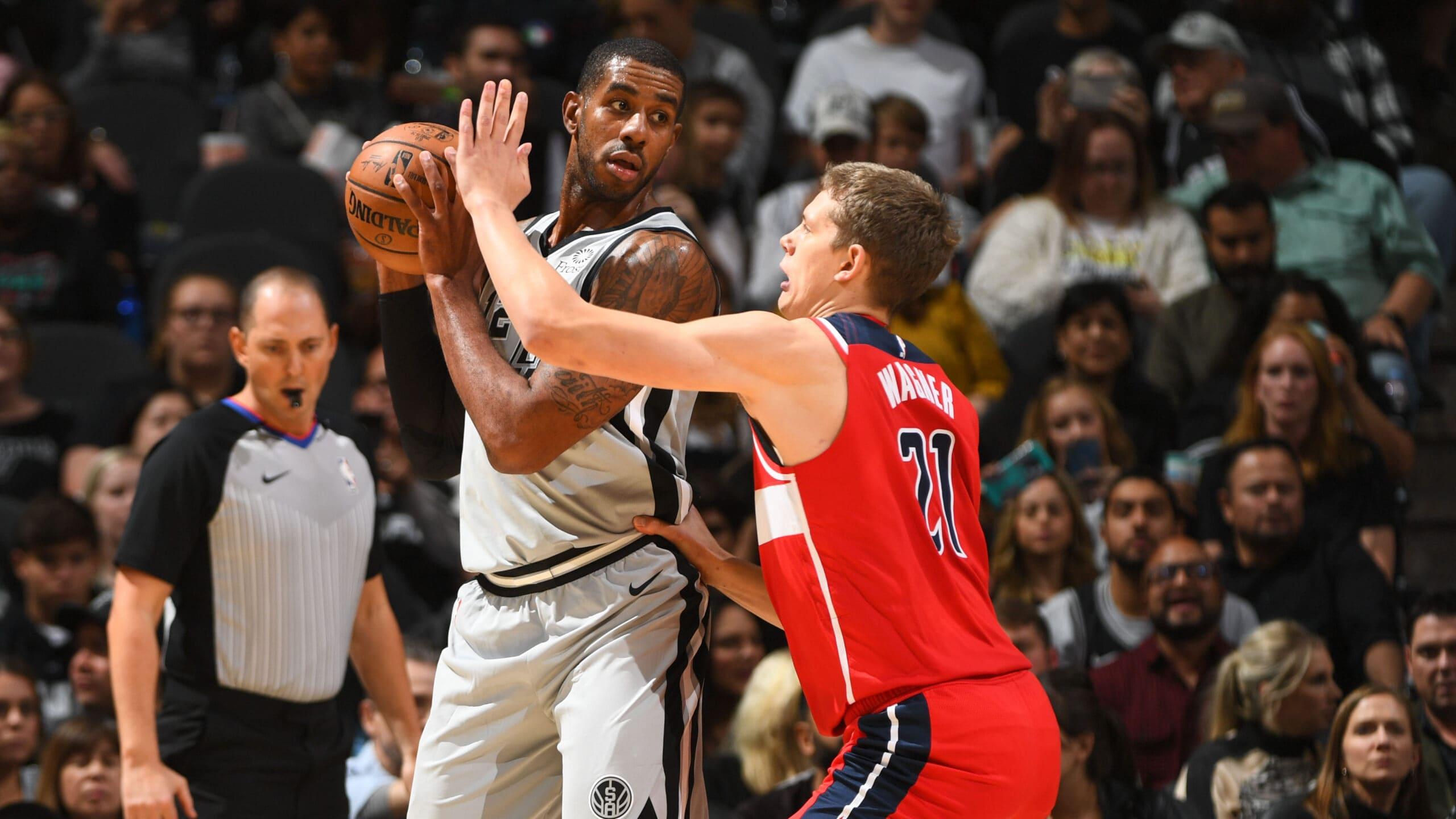 Wizards @ Spurs