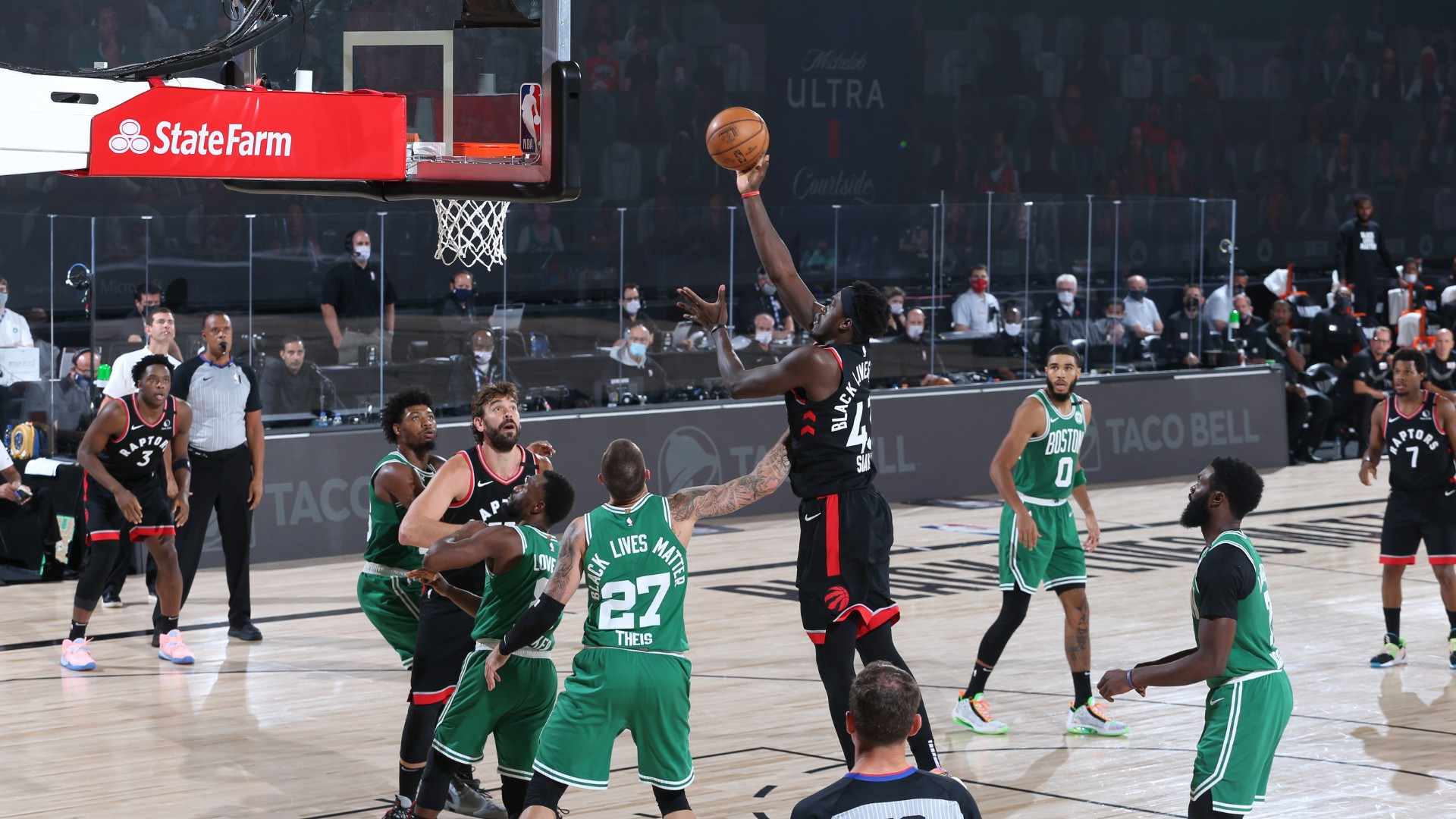 Raptors @ Celtics
