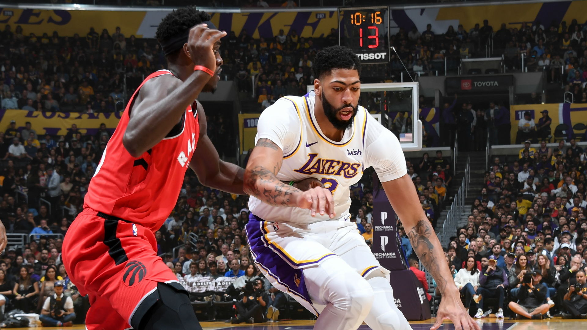 Raptors @ Lakers