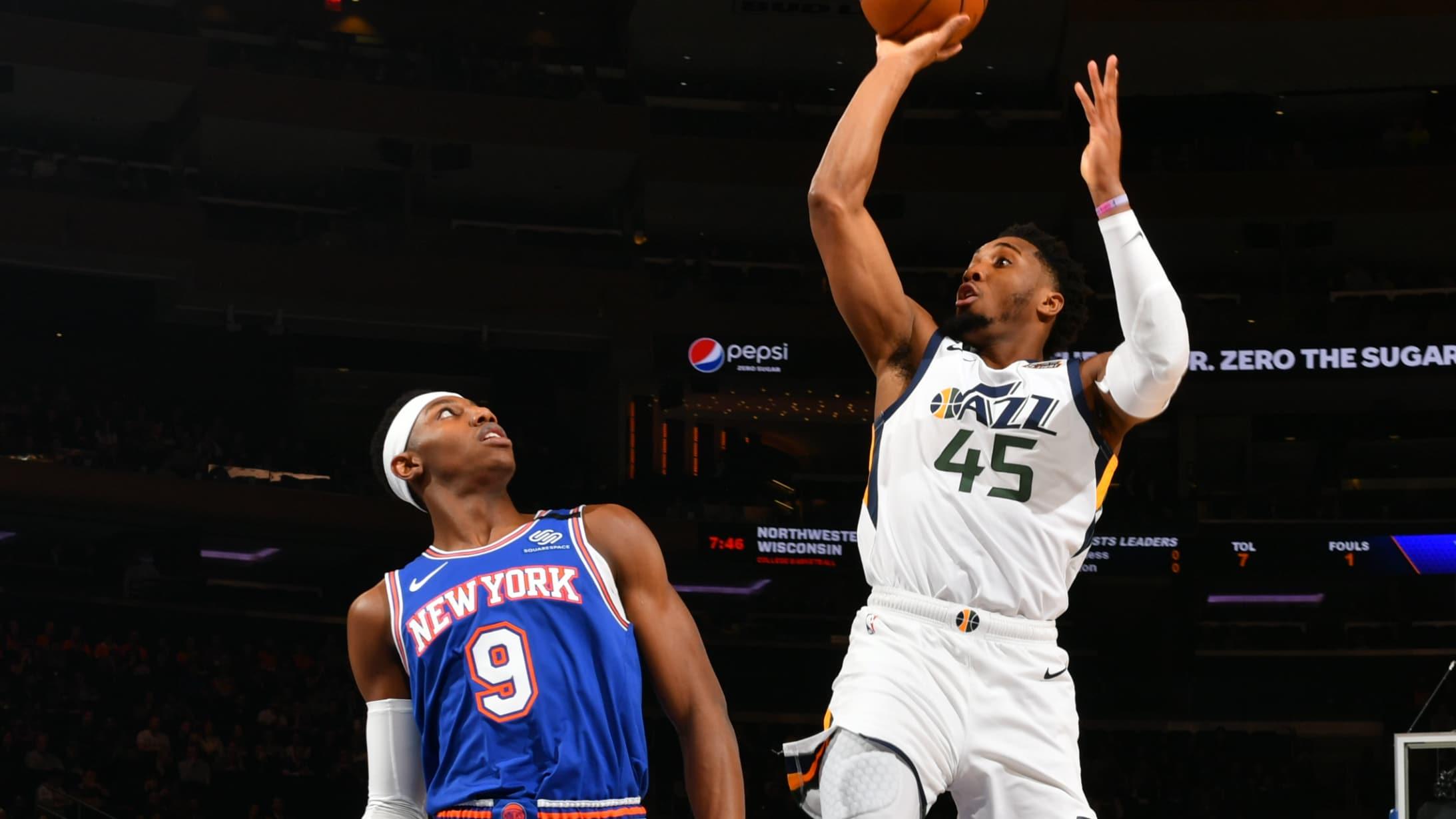 Jazz @ Knicks