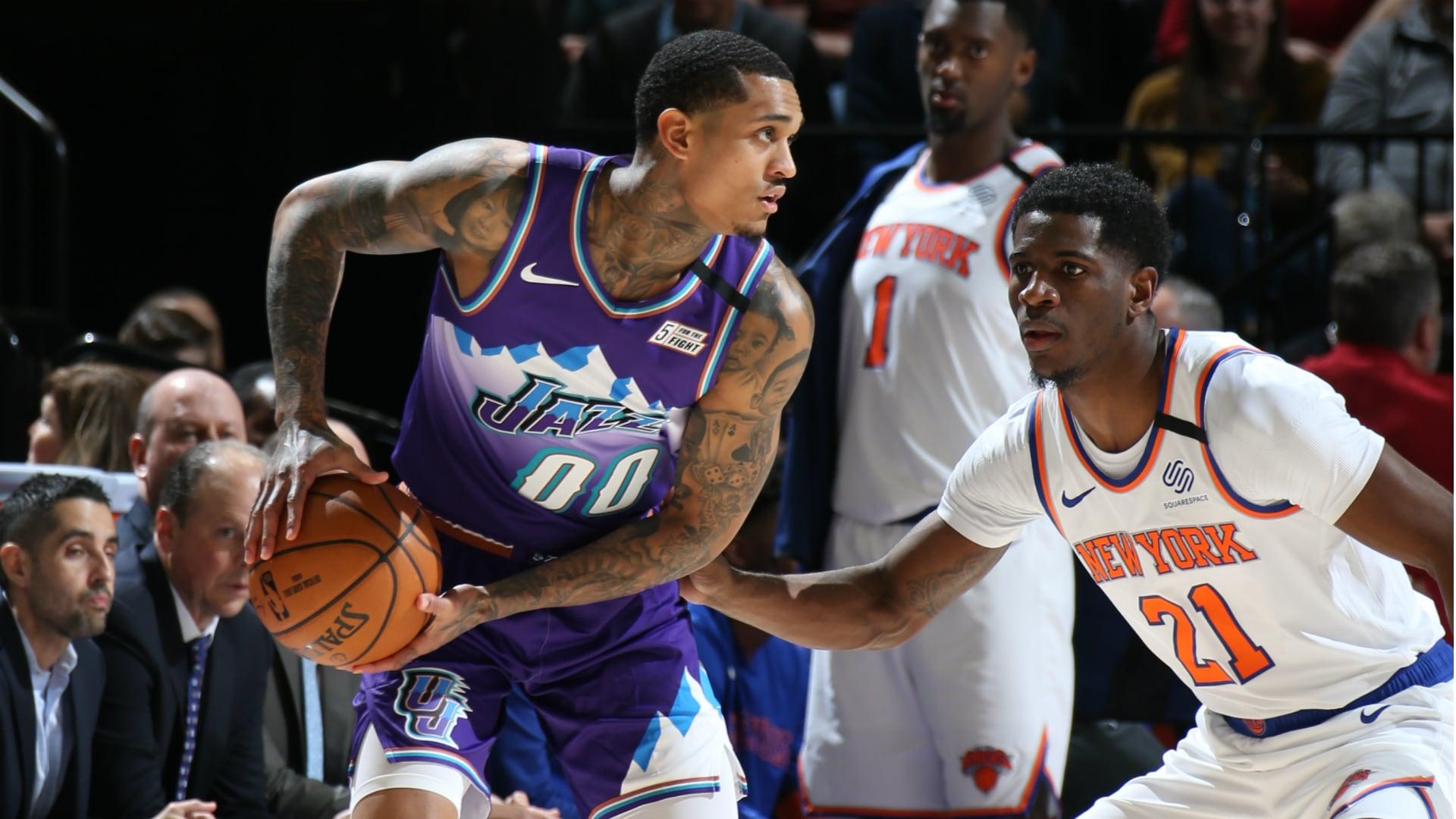 Knicks @ Jazz
