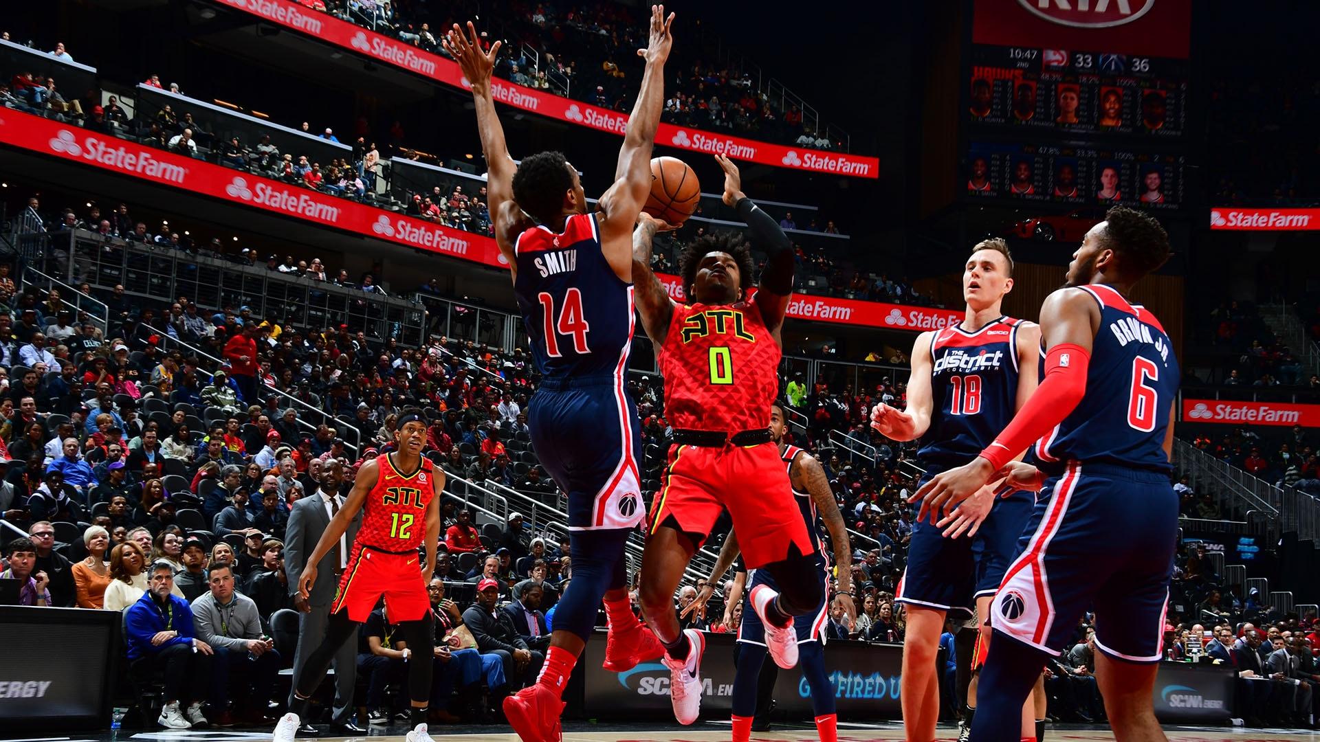 Wizards @ Hawks