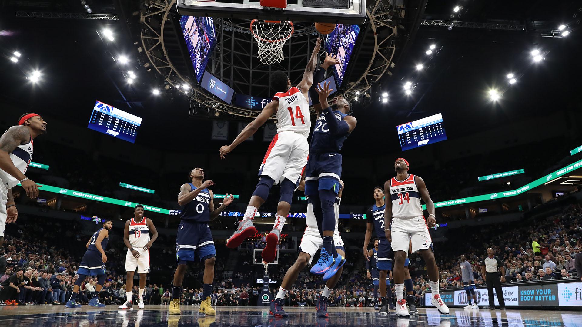 Wizards @ Timberwolves