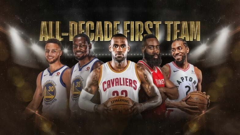 All Decade Team Best Nba Players Of The 2010s Nba Com