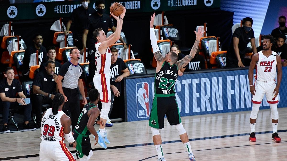 Celtics' plan: Take away Heat 3-pointers, force Game 7