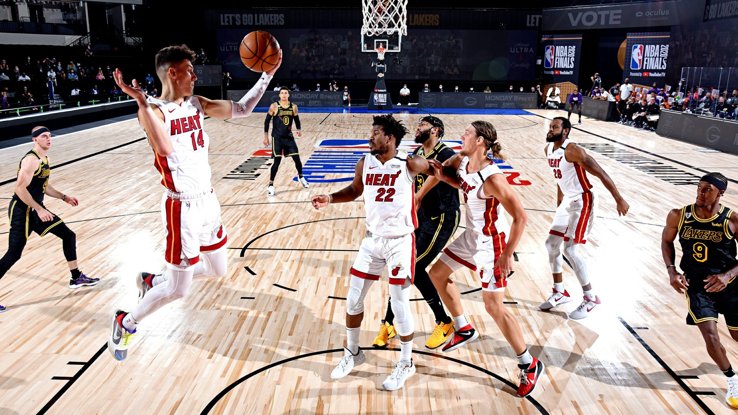 Facing daunting challenge against Lakers, Heat vow to find a way