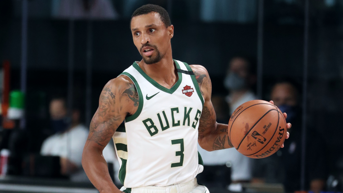 George Hill returns to Milwaukee, assists in voting drive