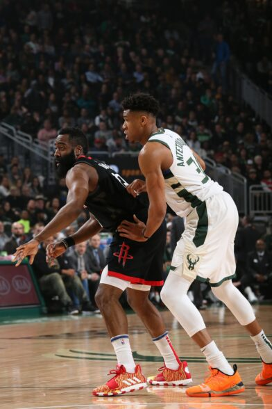 Latest Best Quotes From Nba Stars Giannis Antetokounmpo Says James Harden Is Toughest Player To Guard Nba Com