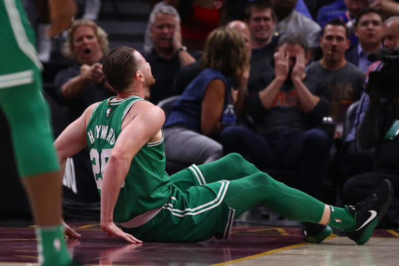 Boston Celtics Gordon Hayward Suffers Fractured Ankle In Season Opener Nba Com
