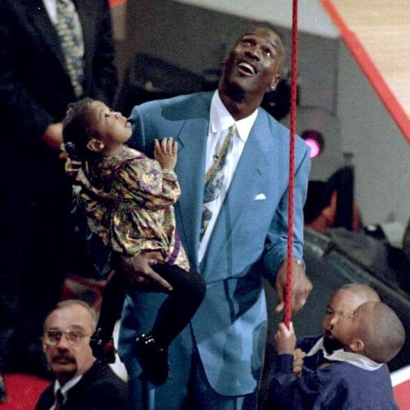 Michael Jordan's daughter Jasmine