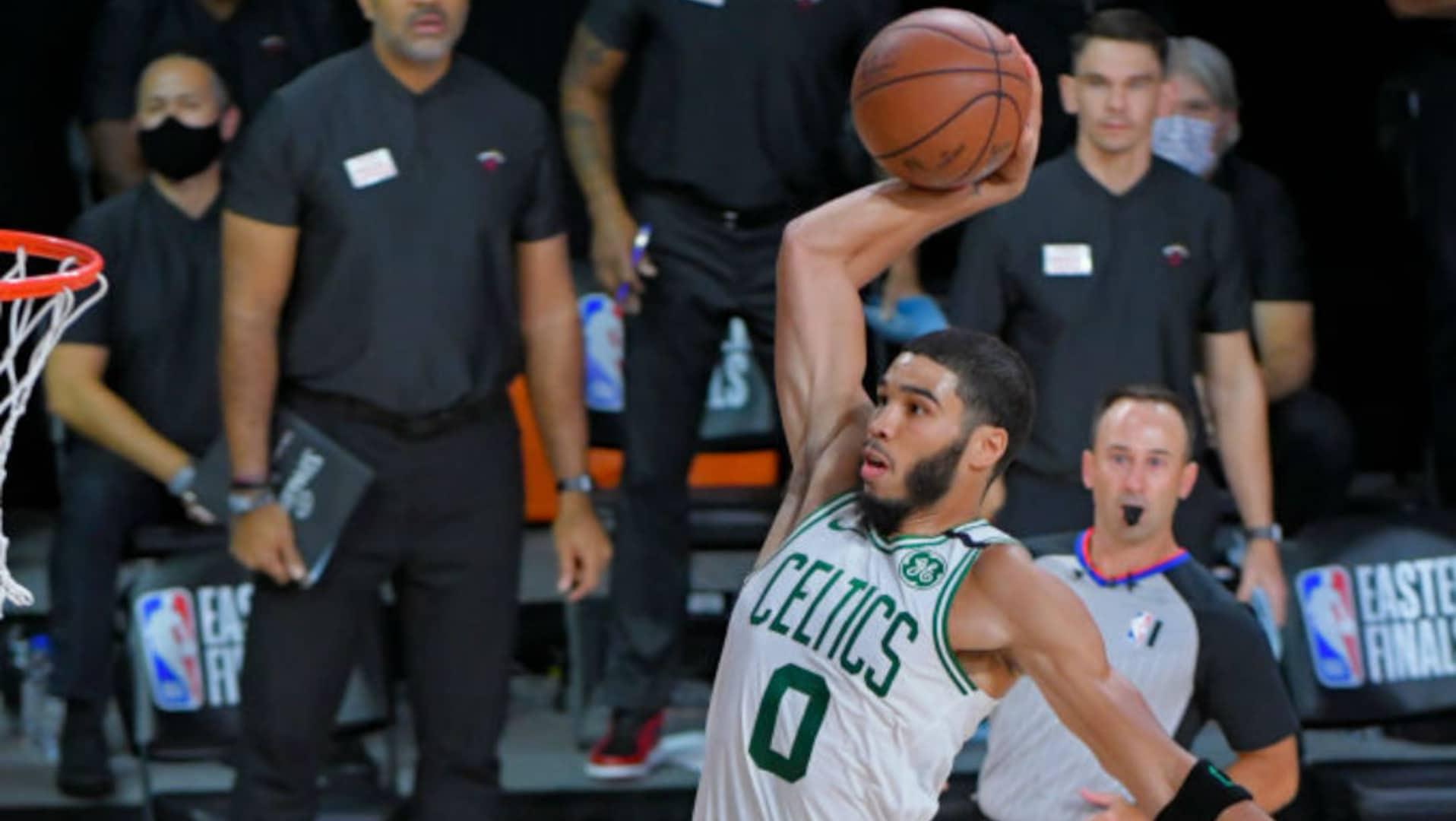 Celtics officially sign Jayson Tatum to extension