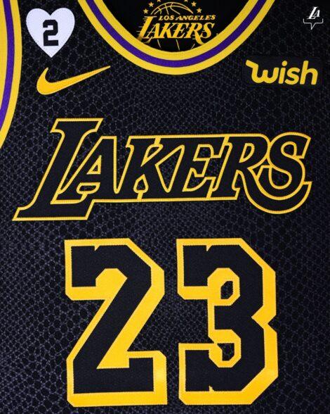 Lakers honor Kobe Bryant with 'Black Mamba' jerseys, Gigi Bryant ...