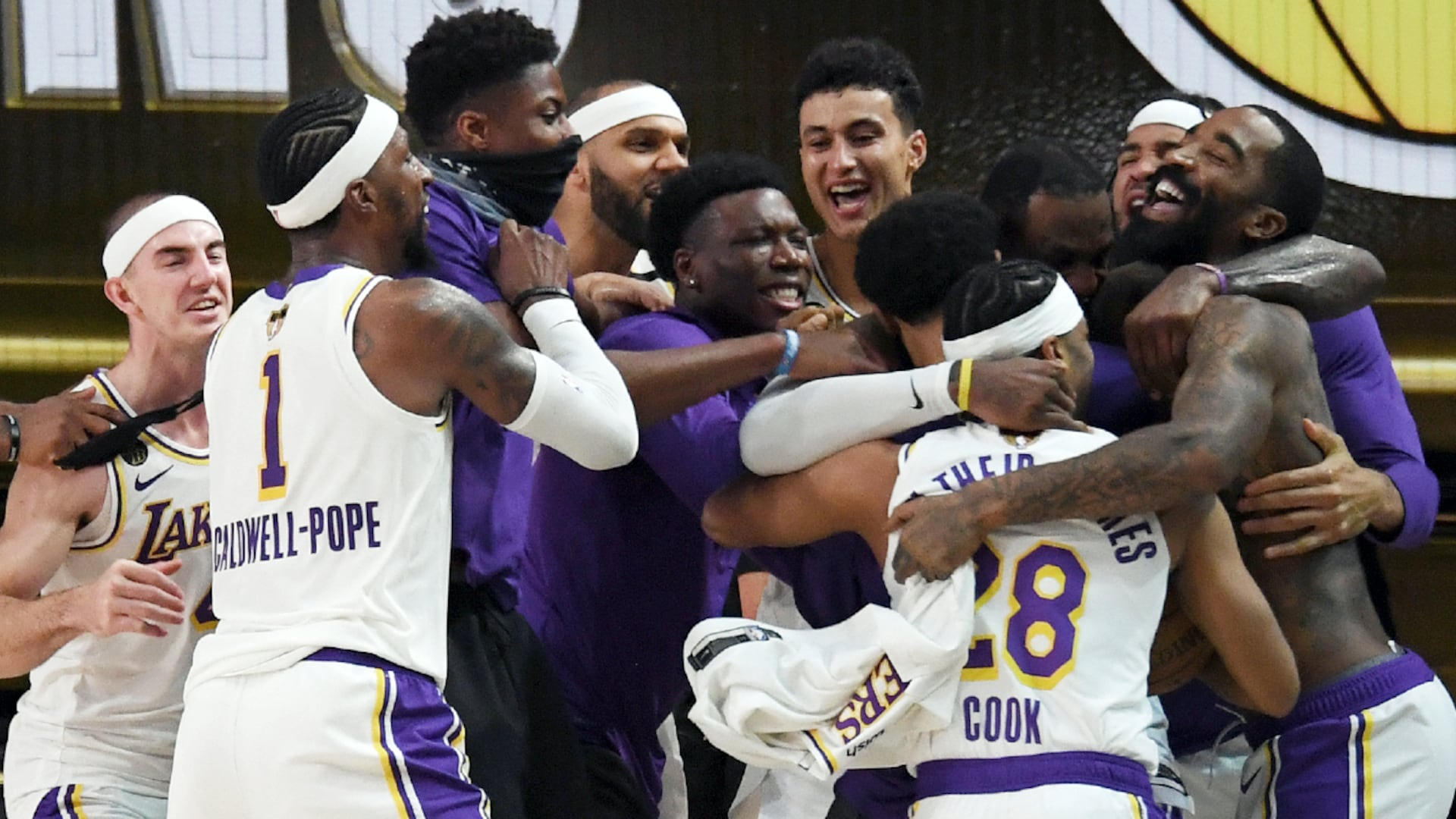 Sweet 17: Lakers tie Celtics for most NBA championships