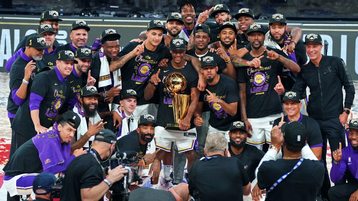 Ultimate Highlight: Lakers surge to NBA title