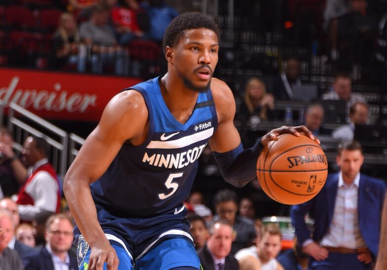 Timberwolves player accused of threatening a family pleads guilty