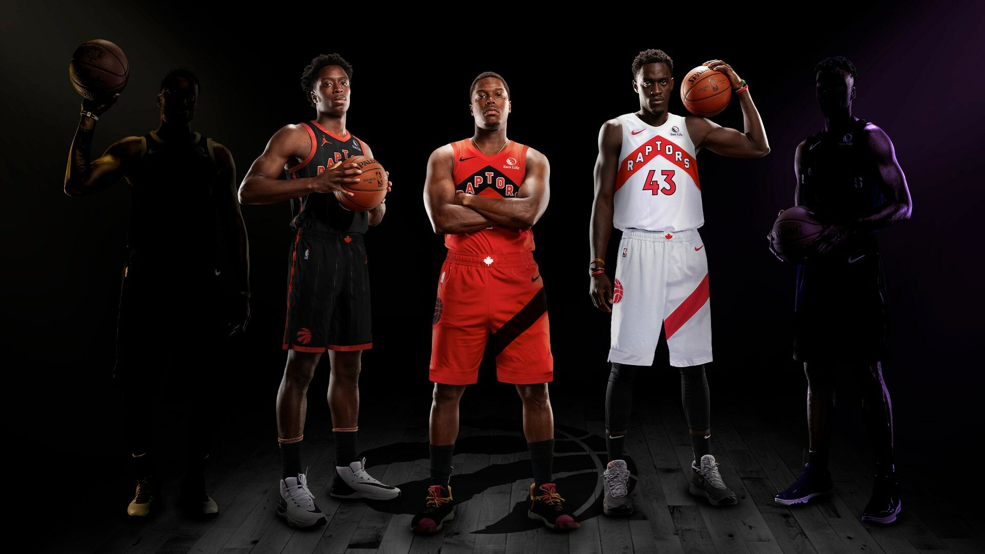 Raptors unveil 3 new uniforms for 2020-21 season
