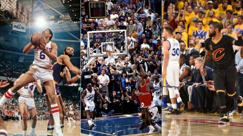 Nba Finals Top Moments In History Nba Com