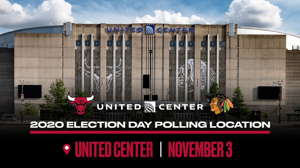 Chicago utilizing United Center as Election Day polling place