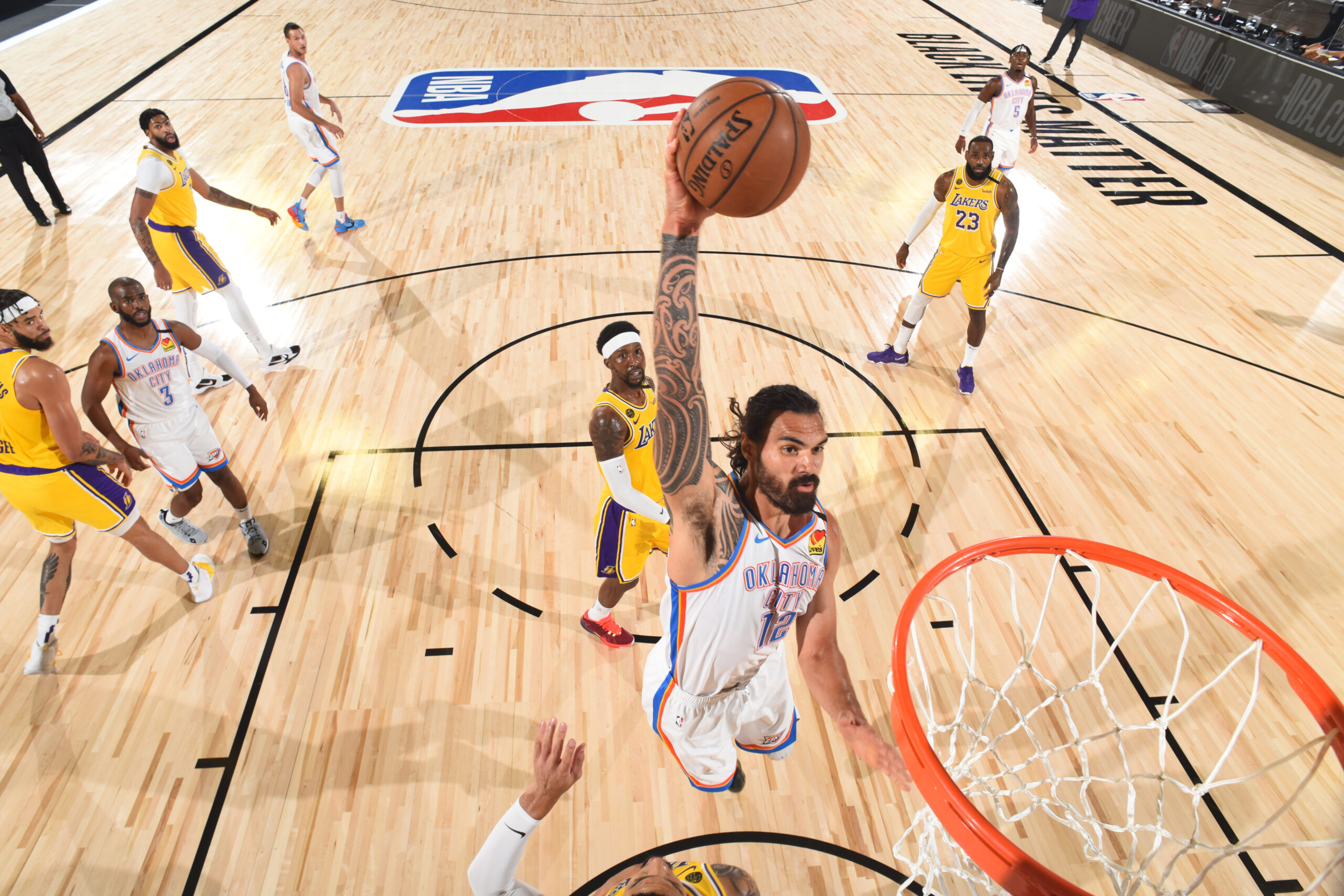 Reports: Pelicans finalizing trade, extension for Thunder's Steven Adams