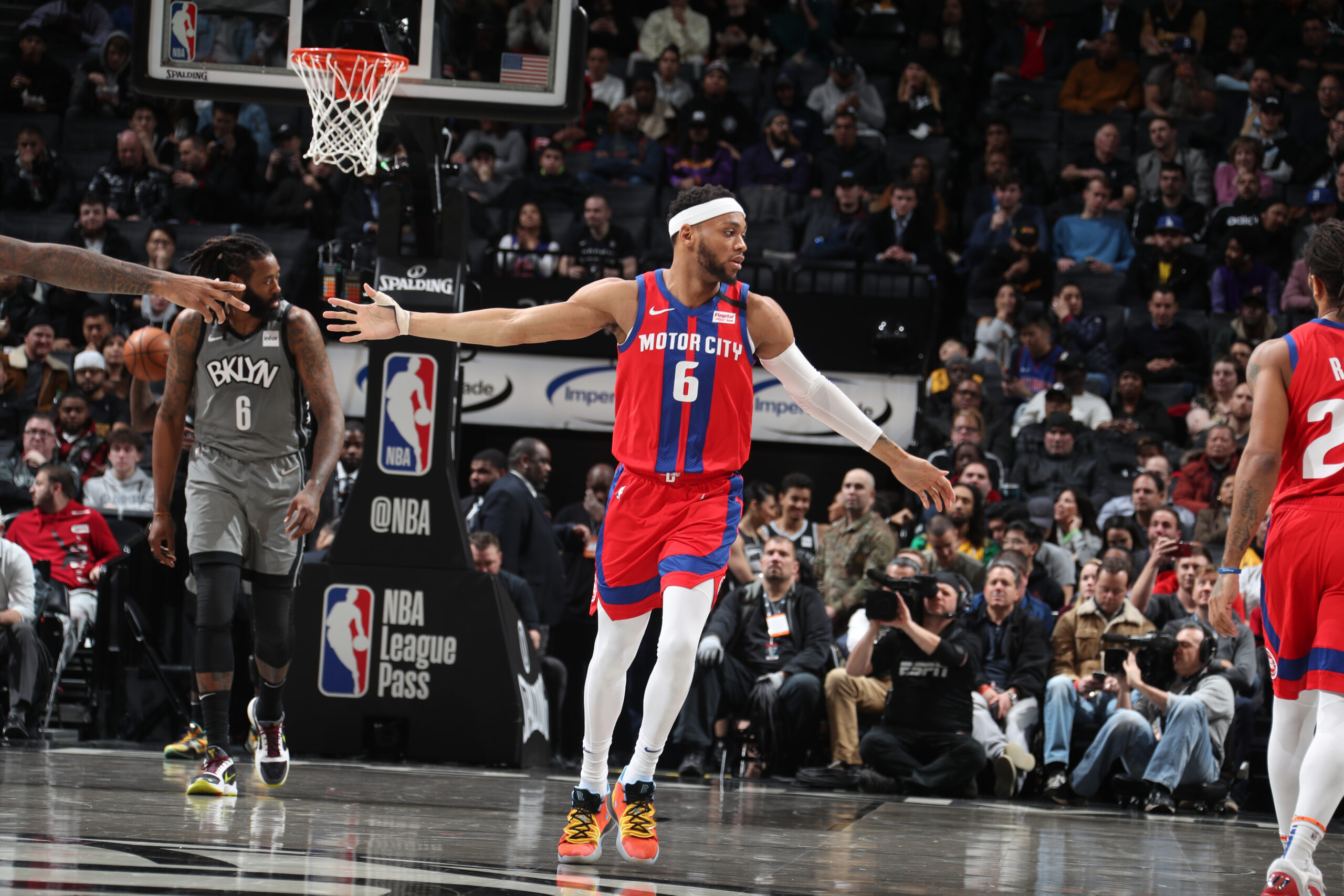 Reports: Pistons trading Bruce Brown to Nets