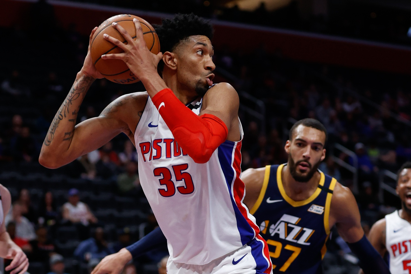 Rockets add Christian Wood in trade with Pistons
