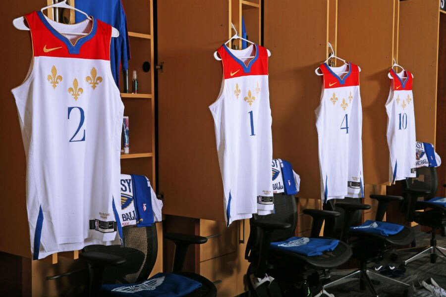 Pelicans unveil City Edition uniforms, honor flag