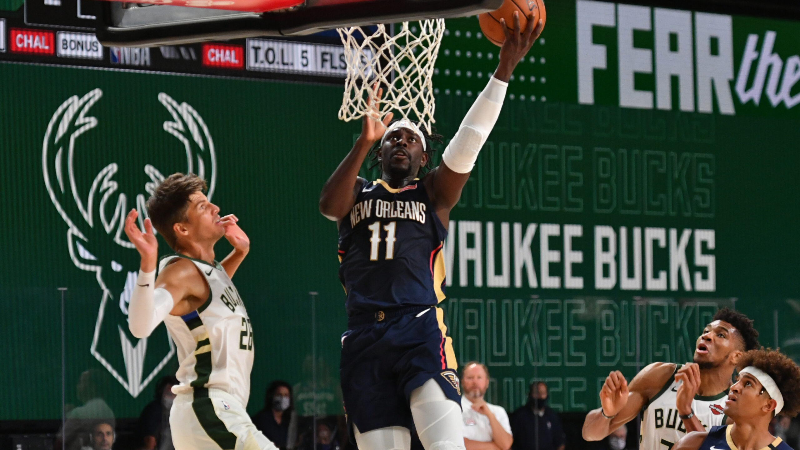 Jrue Holiday traded to Milwaukee in 4-team deal; Steven Adams to New Orleans