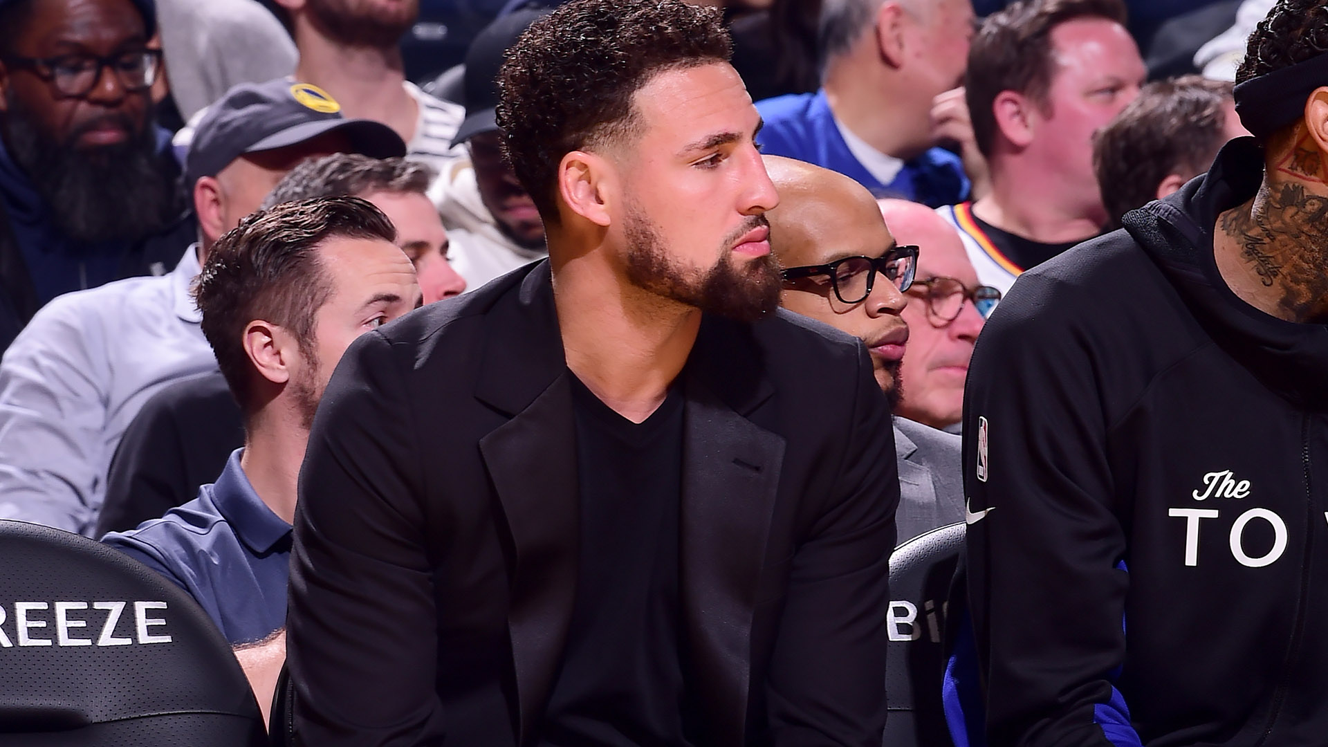 Klay Thompson out for season with torn Achilles