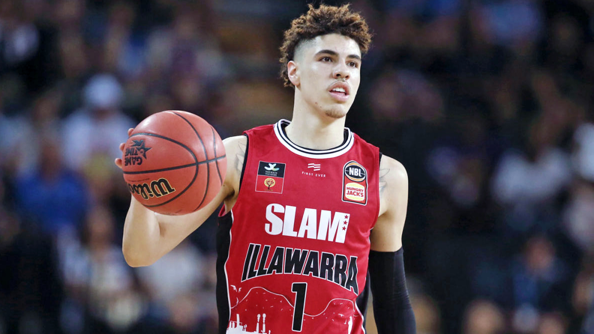 LaMelo Ball says he was 'born' to be overall No. 1 pick