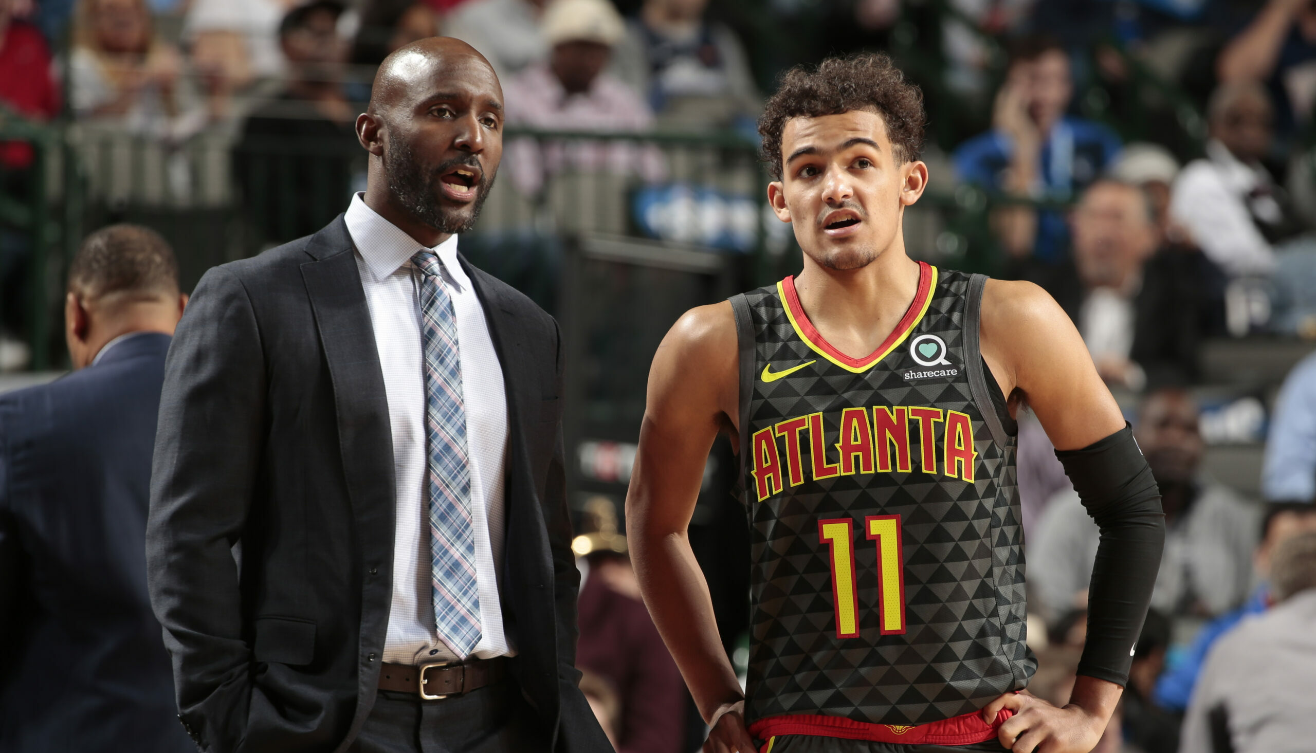 Hawks relieve Lloyd Pierce of head coaching duties