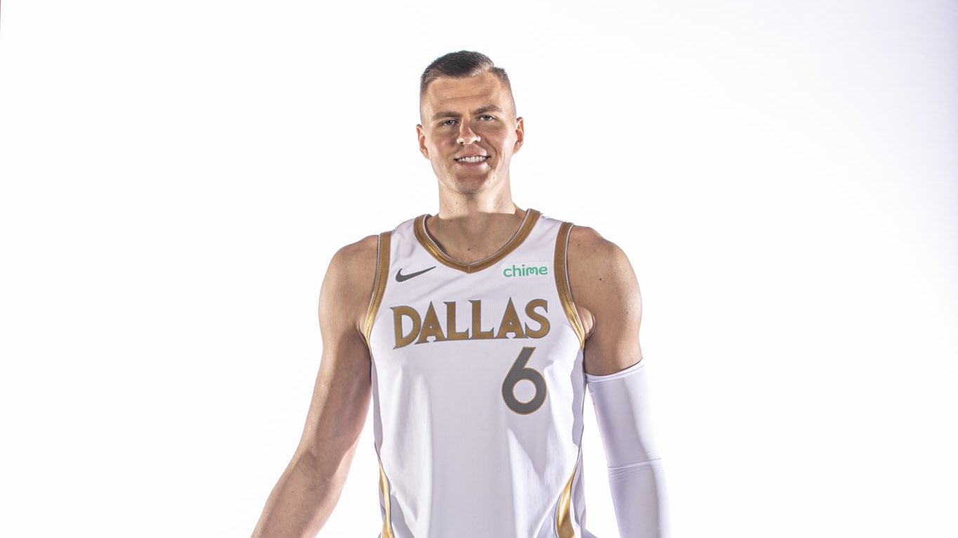Mavericks unveil white-and-gold City Edition uniforms