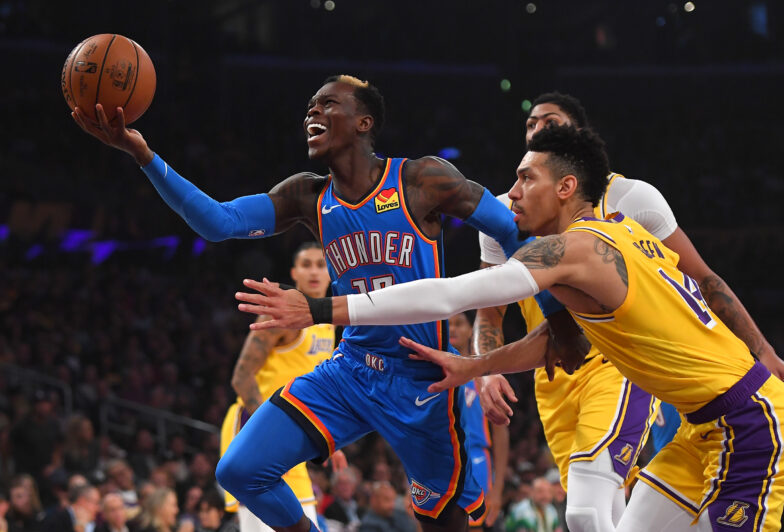 Lakers in advanced talks to acquire Dennis Schroder from Thunder