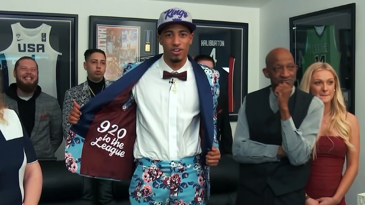 Sights and sounds from 2020 NBA Draft
