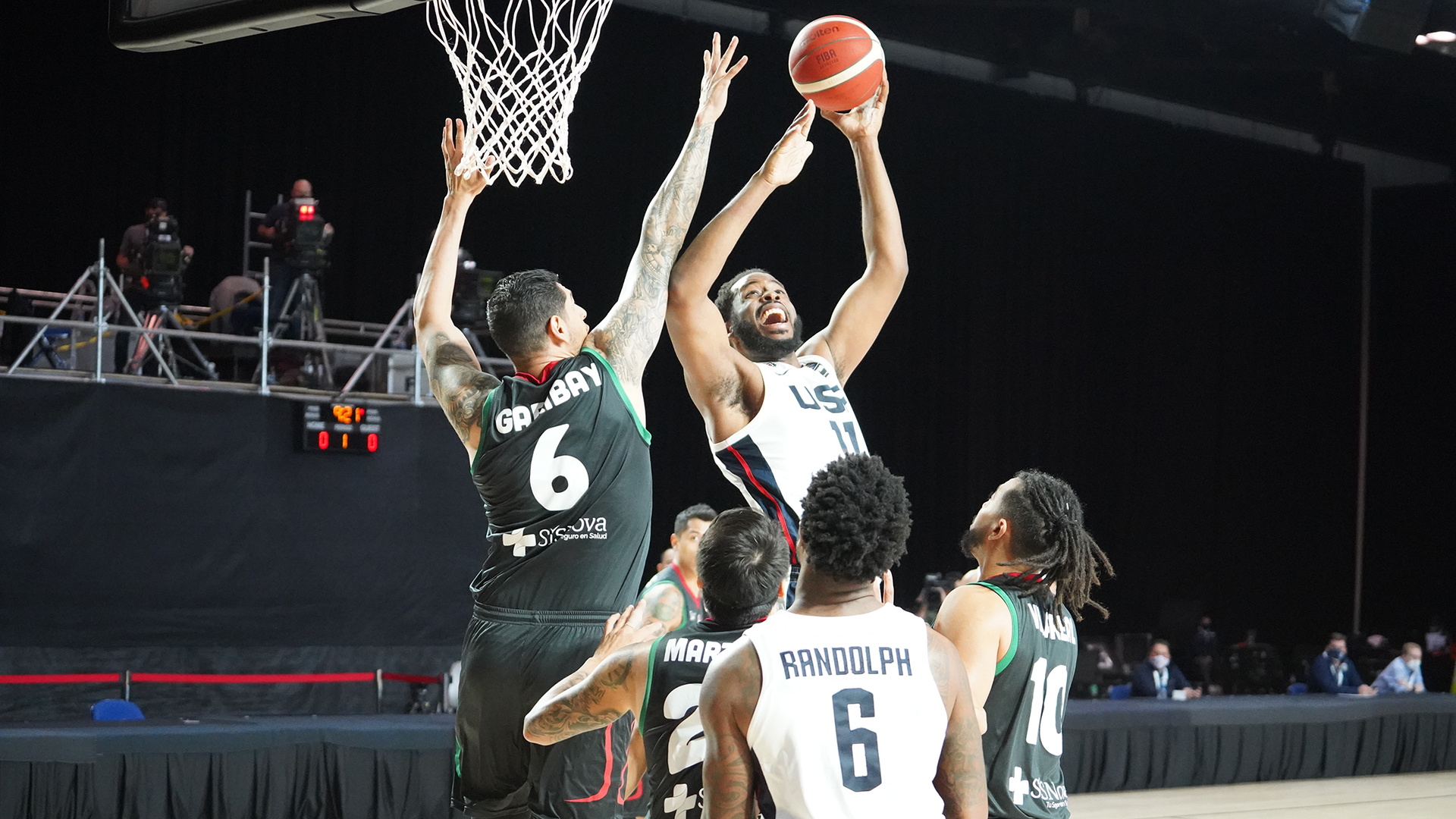 USA Basketball beats Mexico to clinch AmeriCup berth