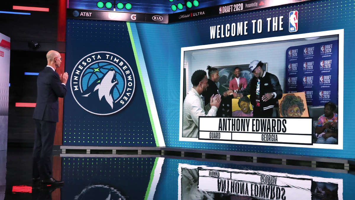 Wolves select Edwards with overall No. 1 pick