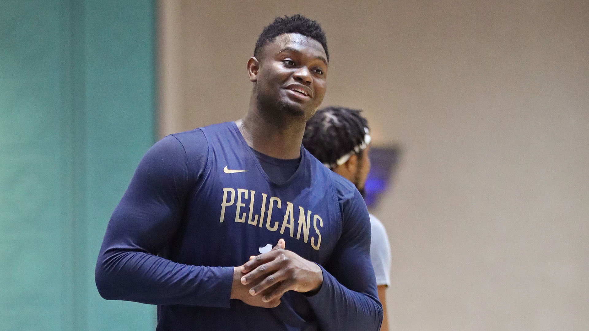 Zion Williamson feels 'great' physically, excited for sophomore season