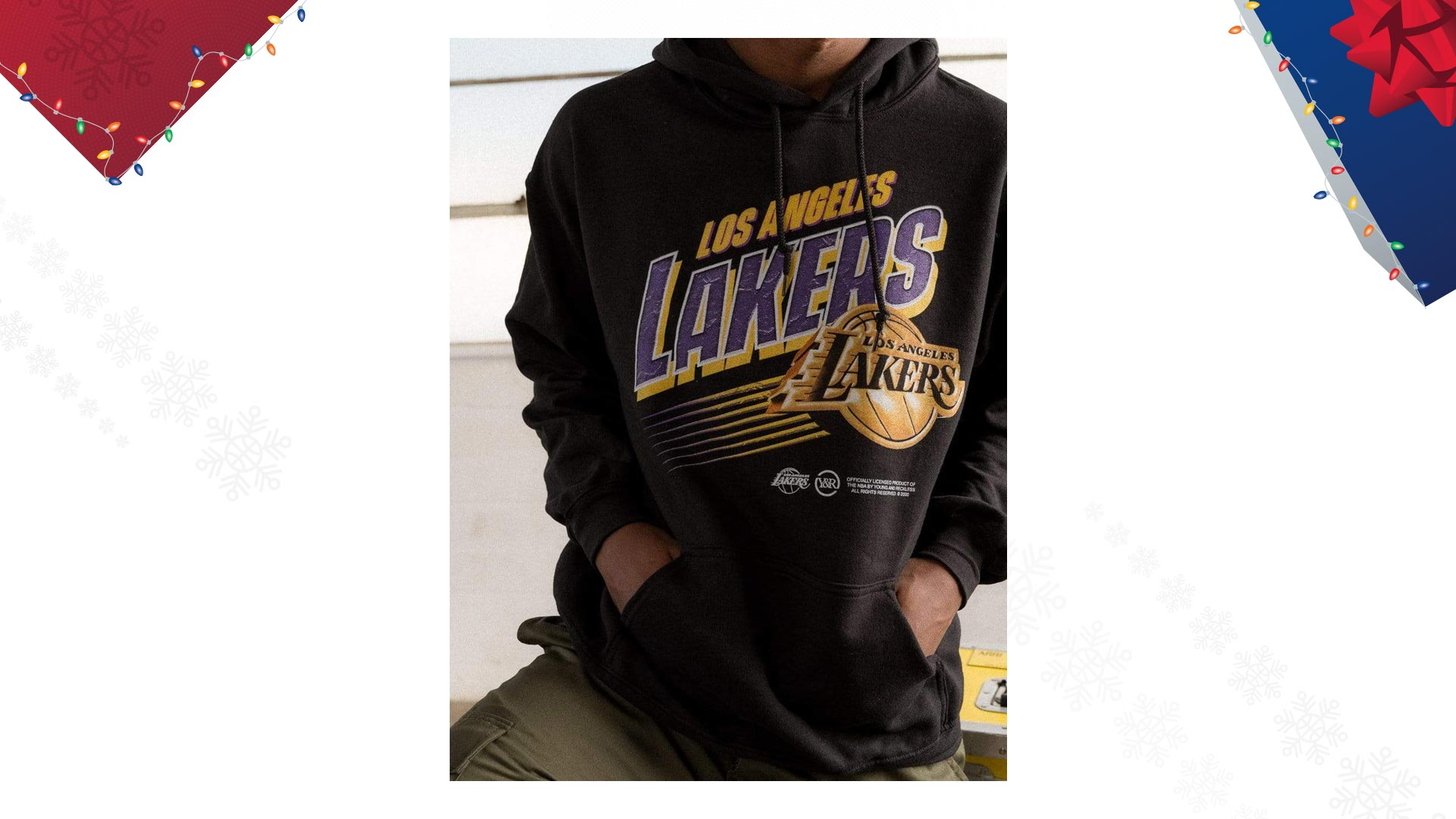 Los Angeles Lakers Overtime Hoodie