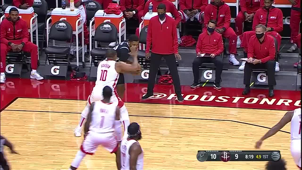 GAME RECAP: Rockets 112  l  Spurs 98