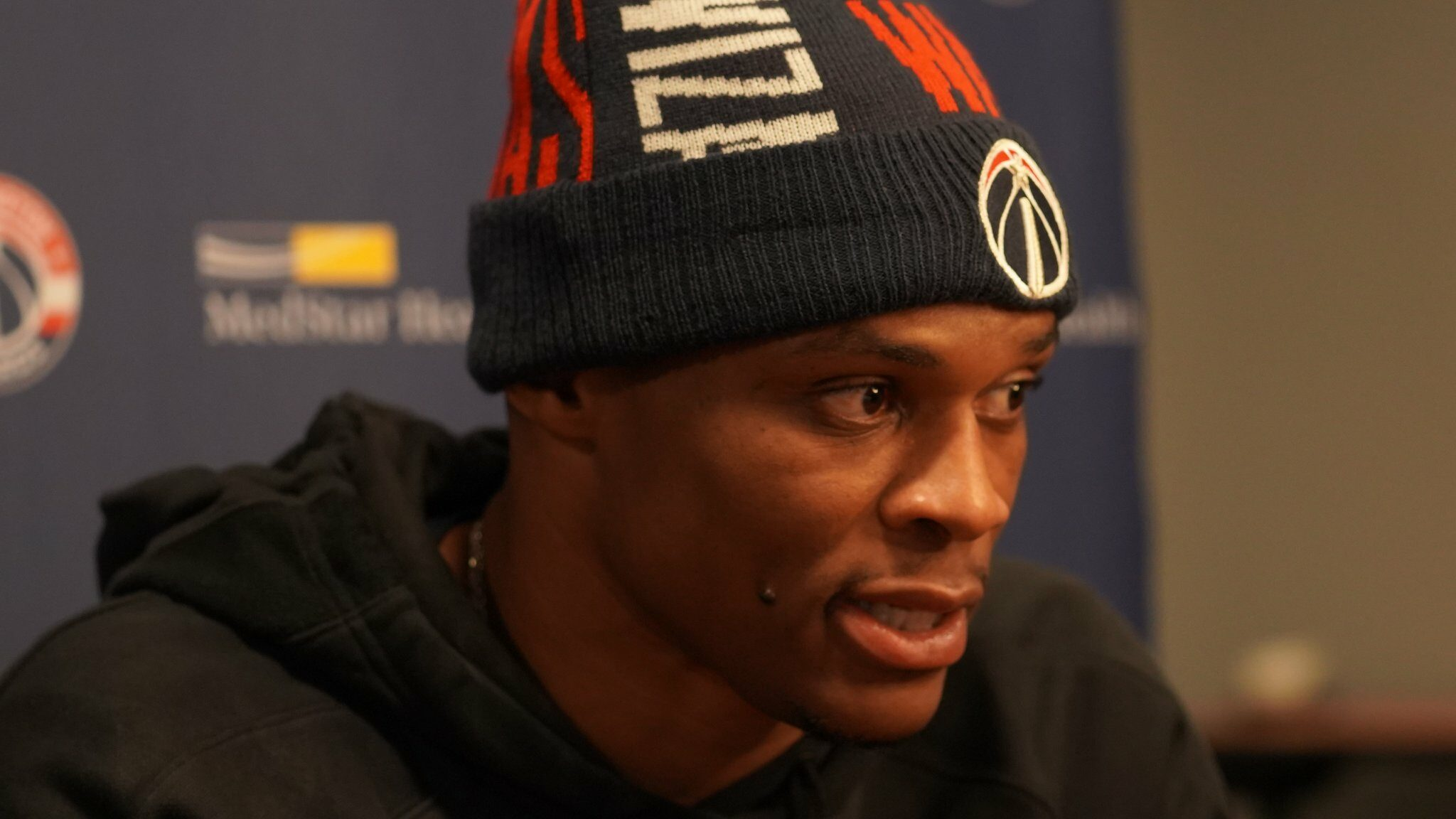 An unapologetic Russell Westbrook is ready for his new challenge with Wizards