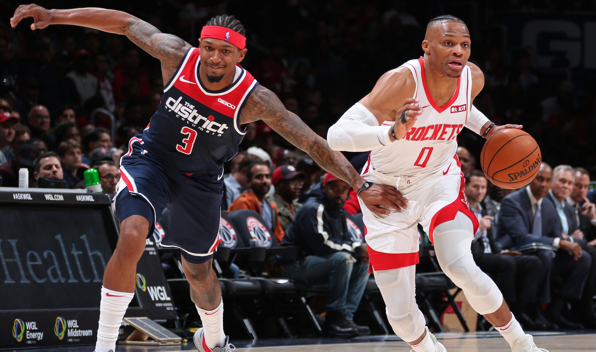 Beal excited for 'spark' Westbrook will bring to Wizards